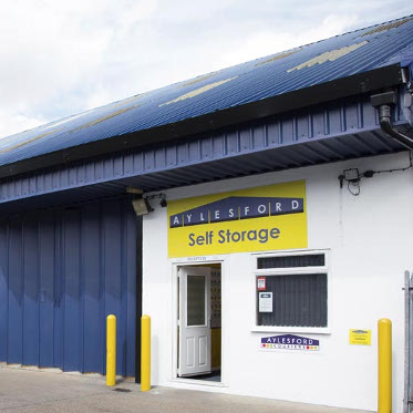 External view of Aylesford Self Storage office