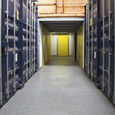 Storage units at Aylesford Self Storage